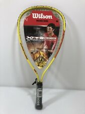 New listing Wilson Xpress Turno Tube Frame RACQUETBALL RACQUET. New