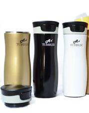 Coffee Mug Vacuum Insulated Stainless Steel Travel Mug 16oz- Sip and Snap Lid