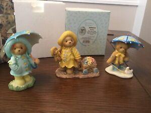 Cherished Teddies Debra, Corrina & Joyce - Rain ☔️  Season