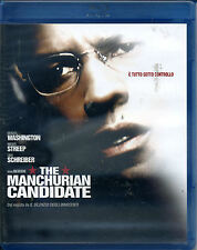 THE MANCHURIAN CANDIDATE 2004 con Denzel Washington - BLU-RAY NUOVO