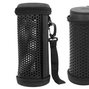 Geekria Carrying Case for JBL Flip 5 Portable Wireless Bluetooth Speaker (Black)