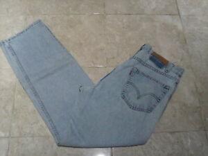 LEVI'S 505 Regular Straight MOM Boyfit Jeans  , size 16 UK,  34W 30L