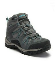Women Boots Waterproof Hiking Boots Northside Freemont Grey Suede Boots NEW