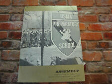 Vintage march 1975 ASSEMBLY UNITED STATES MILITARY ACADEMY BOOK WEST POINT