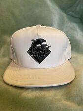 Pink Dolphin Hat Unreleased Rare Leather Lamb Skin SnapBack Strapback 1/50 Made
