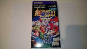 Super Ghouls'n Ghosts Boxed NINTENDO SUPER FAMICOM SNES Game Soft