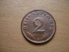 DRITTES  REICH  2 REICHSPFENNIG 1940  *G*    sehr gesucht