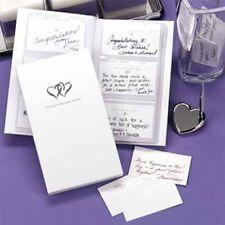 Hortense B Hewitt Book of Wedding Wishes Set Pack of 1 30517 Guest Books NEW
