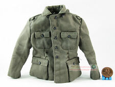Figura 1/6 ww2 alemana global Panzergrenadier uniforme del ejército Field blusa tunic fh_1b