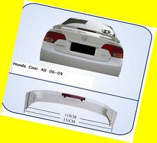 Trunk Spoiler for Honda Civic Sedan OE Style W/ LED 06-2010