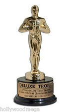 Gold Plated Deluxe Metal Achievement Trophy - 3442