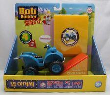 Bob The Builder Project Build It: Talking Scrambler Pull-Back Act w Click Bricks