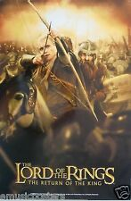 """THE LORD OF THE RINGS """"RETURN OF THE KING"""" POSTER - ORLANDO BLOOM SHOOTING ARROW"""