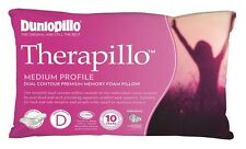 Dunlopillo Therapillo Memory Foam Dual Contour Medium Profile Pillow RRP $189.95