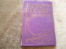 Antique Goss Record Crested China Heraldic Porcelain Catalogue Jarvis Enfield 07