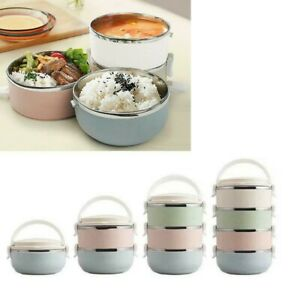Kids School Lunch Box Food Warmer Box Portable Thermal Insulated Food-Container