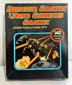 Battlestar Galactica 140 Piece Jigsaw Puzzle No 109 [ Original 1970s Complete ]