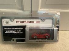 BRAND NEW PORCHE 718 1/43 Minichamps And License Plate DEALER SET EXTREMELY RARE