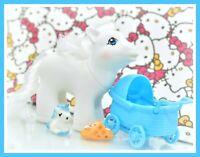 ❤️My Little Pony MLP Vtg G1 Style HQG1C Blank White Boy Newborn Baby Brother❤️