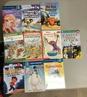 Lot of 10 Level 2 Ready to-I Can Read-Step into Reading-Learn Read Books MIX