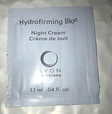 Avon Solutions Hydrofirming BIO 6 Night Cream NEW Samples .04 fl (2)