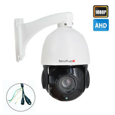 SecuPlug+ Outdoor 1080P AHD PTZ Dome Camera 18X Optical Zoom Night Vision AHD54F