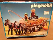 Playmobil 3735 Fall Harvest Pumpkin Horse Wagon Cart Retired NISB RARE 1980s