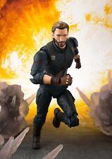 Bandai S.H.Figuarts Captain America & Tamashii Effect Explosion Infinity War
