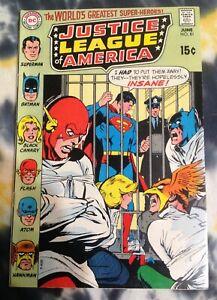 JUSTICE LEAGUE OF AMERICA #81 (1970) - DC Comics / Green Lantern, Aquaman, Atom