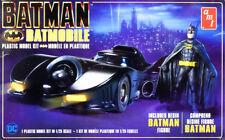 1989 Batmobile Batman Returns Movie + Figur 1:25 AMT Model Kit Bausatz AMT1107