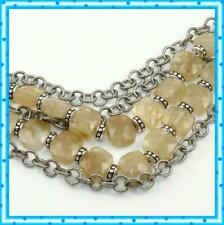 Brighton Rock My Heart 5 Strand Quartz Beaded Bracelet Jb4572