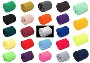 3 pcs SET of Elastic Rib Knit Fabric 2 x CUFF  + 1 x WAISTBAND Elastic ends-up