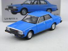 Nissan Skyline 2000Turbo GT-E-S blau,Tomytec Tomica Lim.Vint. Neo LV-N111a,1/64