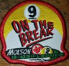 🔥💥APA MOLSON 9 ON THE BREAK PATCH PATCHES AMERICAN POOLPLAYERS👀💥🔥