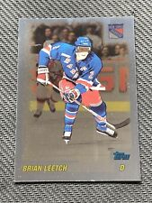 2000-01 TOPPS BRIAN LEETCH FOIL PARALLEL #ed 25/100