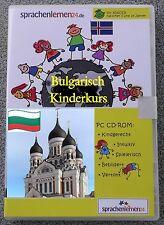 Bulgarisch  - Kindersprachkurs Lernsoftware auf CD-ROM ,Sprachenlernen24
