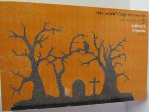 Dept 56 Halloween Village Accessories Halloween Silhouette 6003300