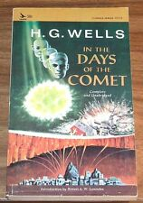 Reduced! H.G.WELLS In The Days Of Comet *NFINE* Airmont CL111 Robert A W Lowndes
