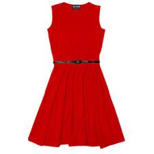Robes rouges pour fille de 9 à 10 ans