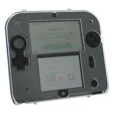 Hard case for 2DS Nintendo protective shell cover skin ZedLabz Crystal Clear