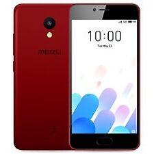 "Móvil Meizu M5c rojo 2GB 5"" 16GB Quad Core 1.3ghz DualSIM Móviles"