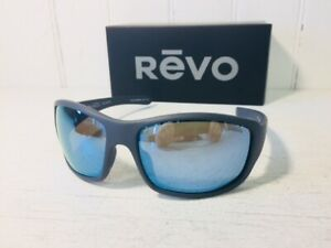 REVO RE1098 00 BL MAVERICK Matte Graphite wPOLARIZED Blue Water Lens Suns $159