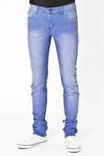 CHEAP MONDAY JEANS TIGHT Brilliant Blue Washed Denim Jeans 30 / 34