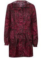 Raincoat pac a mac coat Jacket Rain Wet New Shower Hooded Hood Ladies Ex Store