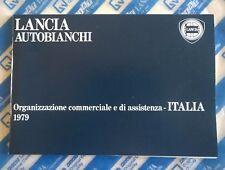 Organizzazione Commerciale e di Assistenza Italia Lancia Autobianchi Aprile 1979