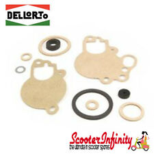 Gasket Set DELLORTO carburettors SI 20.20 to 26.26D Vespa PX80-200E/Lusso/MY/T5