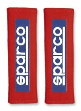 """Sparco 01098S3R 3"""" Red Racing Seat Belt Harness Pad"""