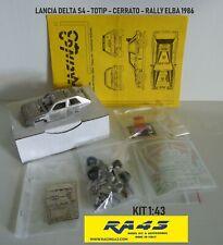 1/43 Lancia Delta S4 Rally Elba 1986 Totip Cerrato Kit