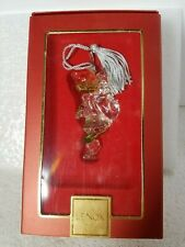 """Lennox """" Dr. Suess - Up The Chimney """" glass ornament"""