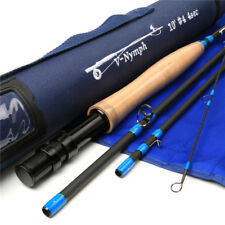 FMO V-Nymph 10ft 4wt 4-pc Nymphing Fly Rod Travel 24T Carbon Fiber + Free Gaiter